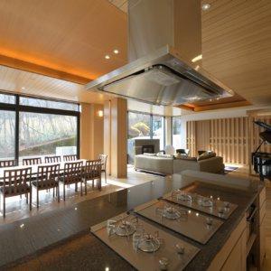Hachi Island kitchen
