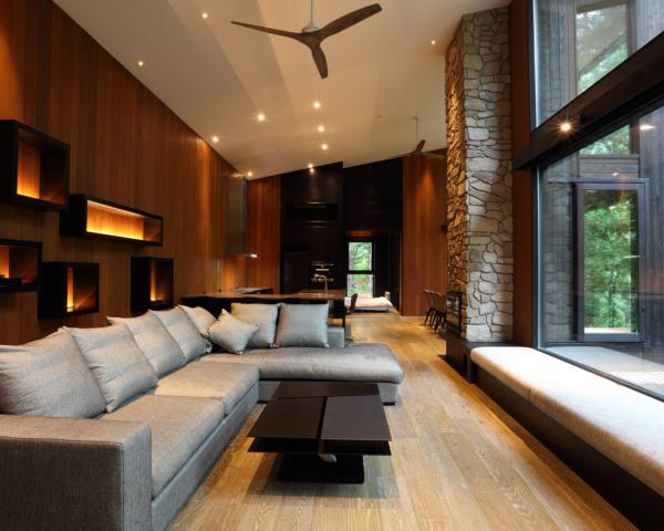 Villa El Cielo living room