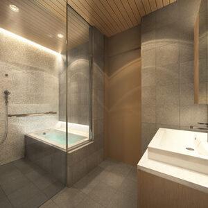 Mountain Side Bathroom