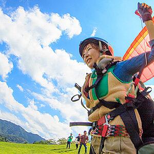 Hakuba paraglider